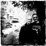 Sam and Nancy, Fallingwater, May 2012