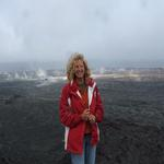 Me On the Big Island-Volcanos National Park