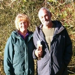 Tim and Gale at Belas Knap UK