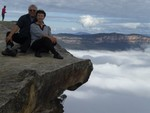 Us in Blue Mountains, Australia, 2010