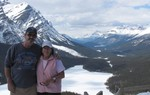 The Two Nomads at Icefield parkway