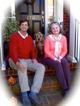 Me, My Wife Sandy and Alex the dog