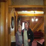 Howard and Sue at the Brigham Young house