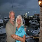 Paul and Diane at Beirut Rest, Panama City, Panama
