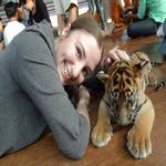 Playing with the big cats!