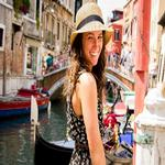 All smiles in Venice, Italy