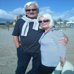Marbella Beach. Christmas 2012